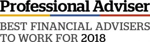 Professional Adviser - Best Financial Advisers to Work for 2018